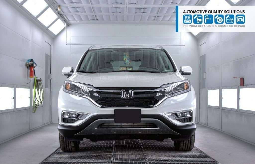 A Honda CRV Detailed and Opti-Coat treated by AQS and D&D Auto Detailing