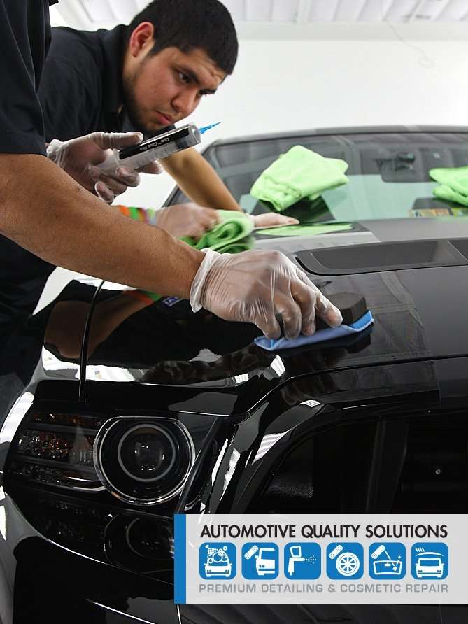 Installing Opti-Coat PRO on a Shelby Mustang GT500 at Automotive Quality Solutions